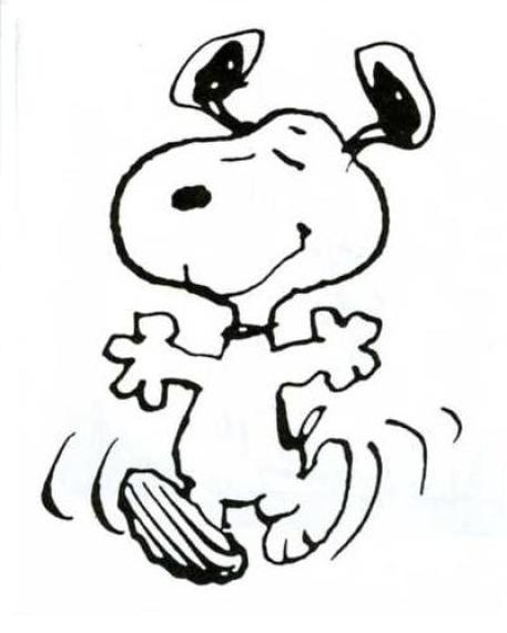 The Snoopy Dance Beagle