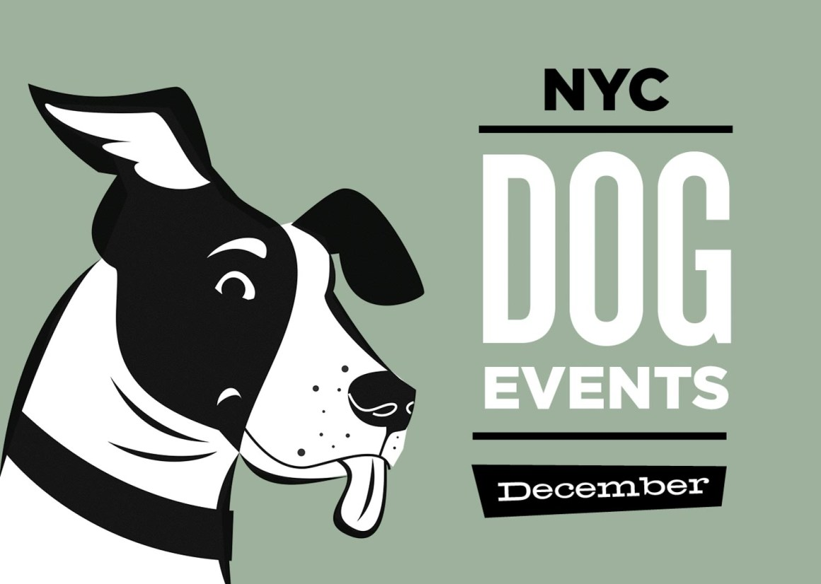 NYC Dog Events Calendar Dec