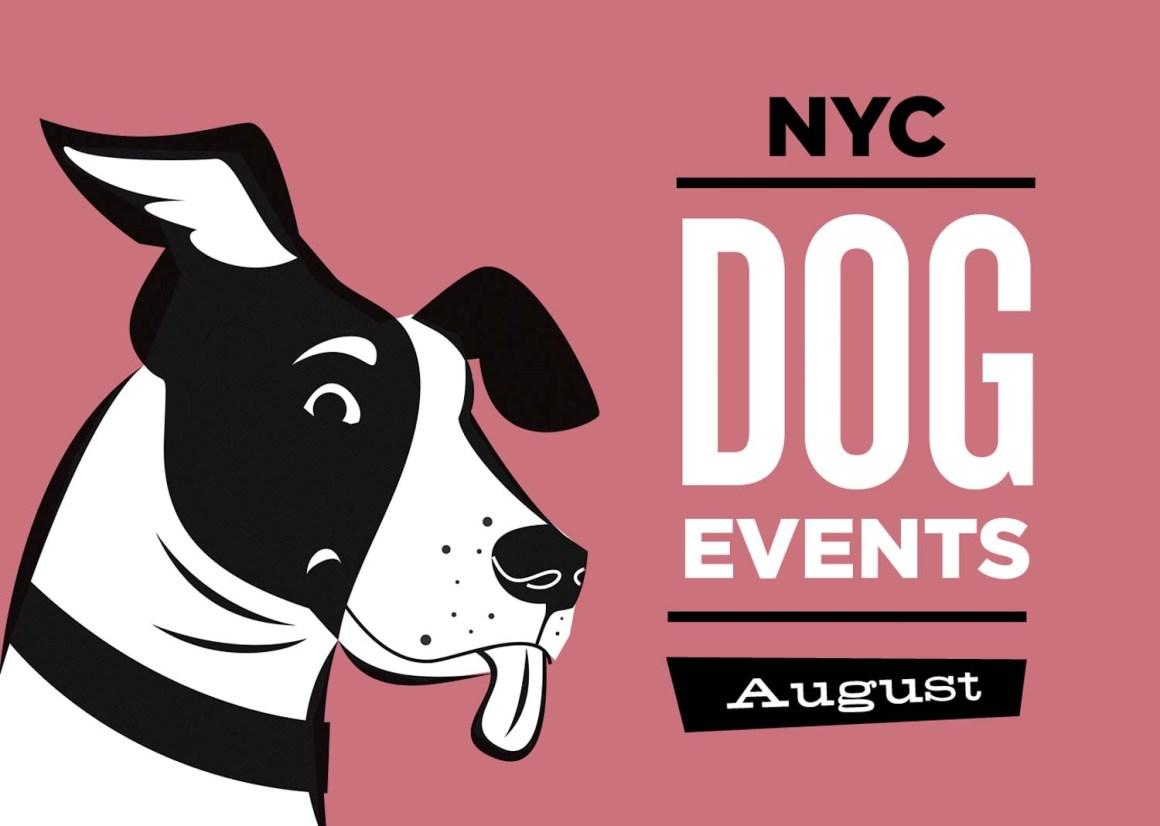 NYC Dog Events Calendar August