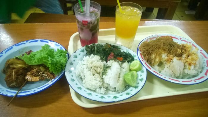 menu nasi bancakan