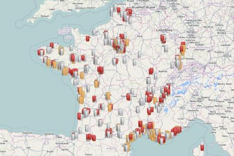 La carte des villes en manque de logements sociaux