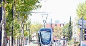 Le tramway toulousain, inauguré en décembre dernier.