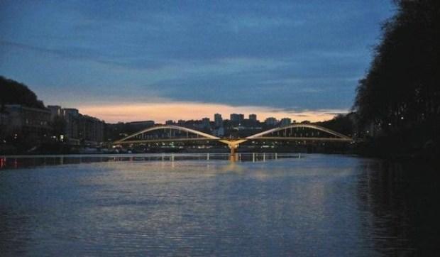 Le futur Pont Schuman - Lyon