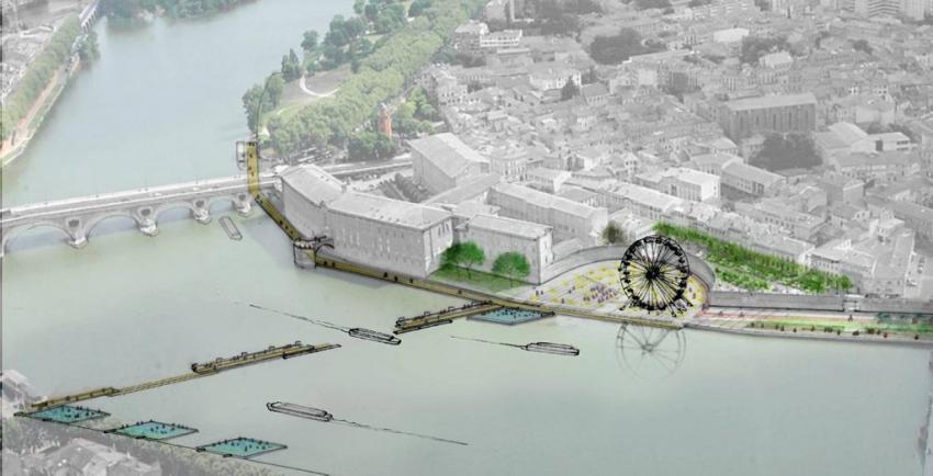 L'aménagement du canal du Midi projeté par Busquets
