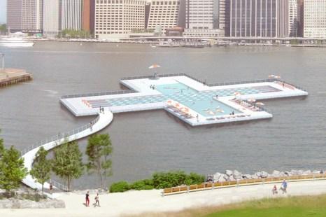 +Pool - Une piscine flottante sur l'East River ?