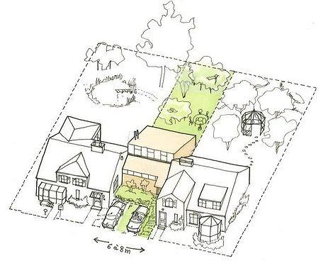 Profiter des espaces laissés par la règle des 3 mètres pour densifier ? Une illustration du Bimby
