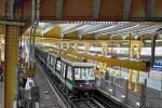 De l'extérieur, le nouveau métro ne se distingue pas vraiment de son prédécesseur