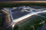 Le nouveau parc des expositions de Chartres - © Zaha Hadid Architects