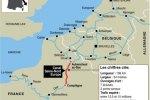 Tracé et chiffres clés du projet de canal Seine-Nord Europe.