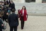 Cécile Duflot, à la sortie du Conseil des ministres.