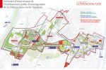 Périmètre d'intervention de l'Etablissement Public d'Aménagement de la Défense Seine Arche (Epadesa).