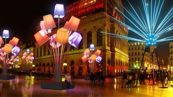 Place Louis Pradel – Lyon 1er Light In Tilt Projet parrainé par le Mat'Electrique
