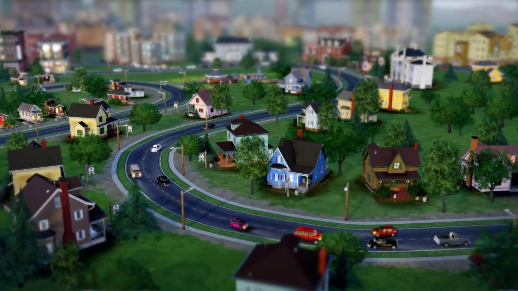 L'urbanisme est clairement inspiré du modèle américain.