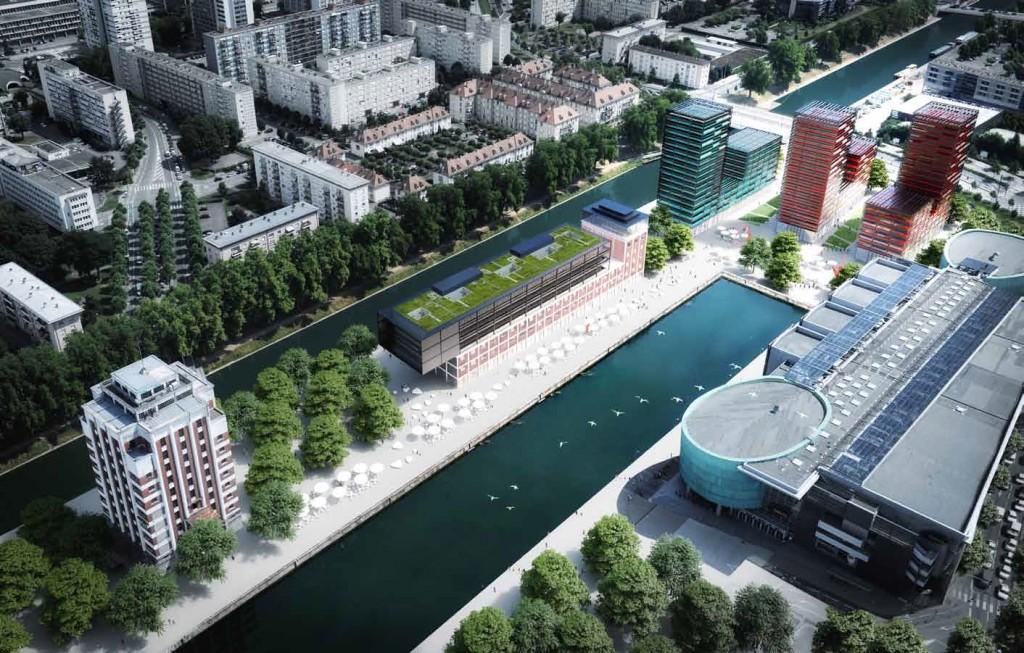 Trois nouvelles tours pour la presqu le malraux - Centre commercial rivetoile strasbourg ...