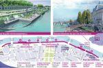 Paris : fermeture de la rive gauche