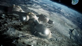 Moon Base - Foster+Partners