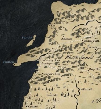 Les Terres de l'Ouest (the Westerlands)