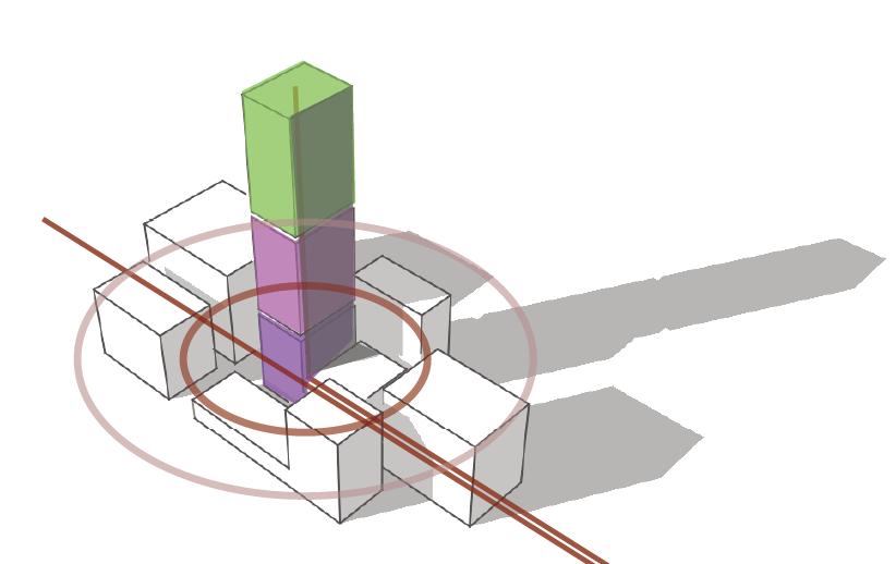 Une centralité émerge de l'accès à la donnée, sous la forme d'une tour (Crédits Urbanews)
