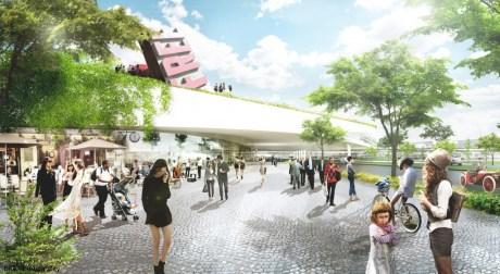Europa City BIG Axe Structurant 460x252 Europa City : Bjarke Ingels lauréat