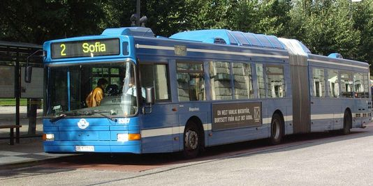 Bus urbain de Stockholm