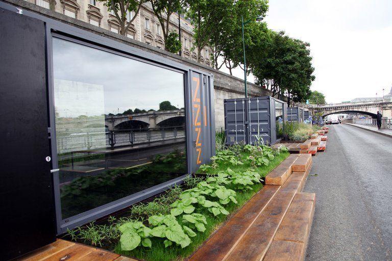 Les nouvelles berges de Seine Claire Lebertre / AFP
