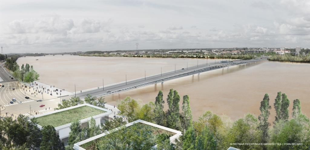 Pont Bordeaux Feichtinger
