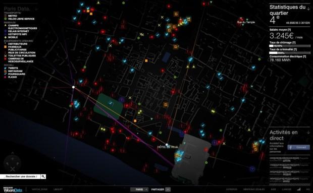 Source : Ombre virtuelle de Paris 4ème arrondissement, par Watch_Dogs WeareData