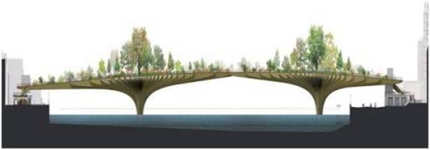 Garden Bridge - London - Thomas Heatherwick