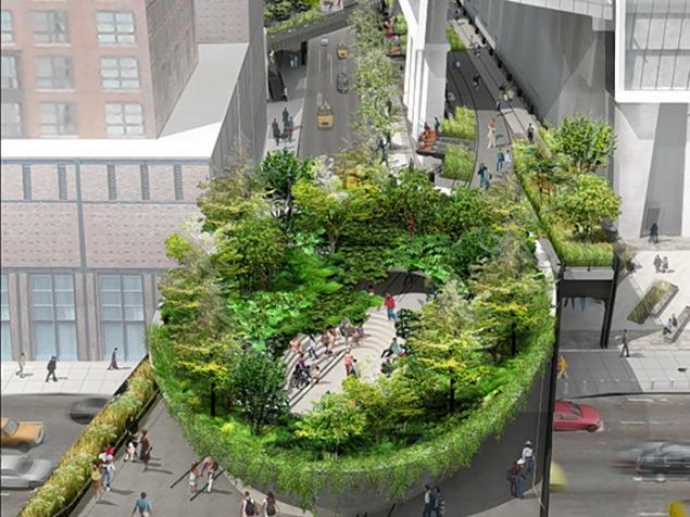 The Spur - High Line Park - Diller Scofidio + Renfro & James Corner Field Operations