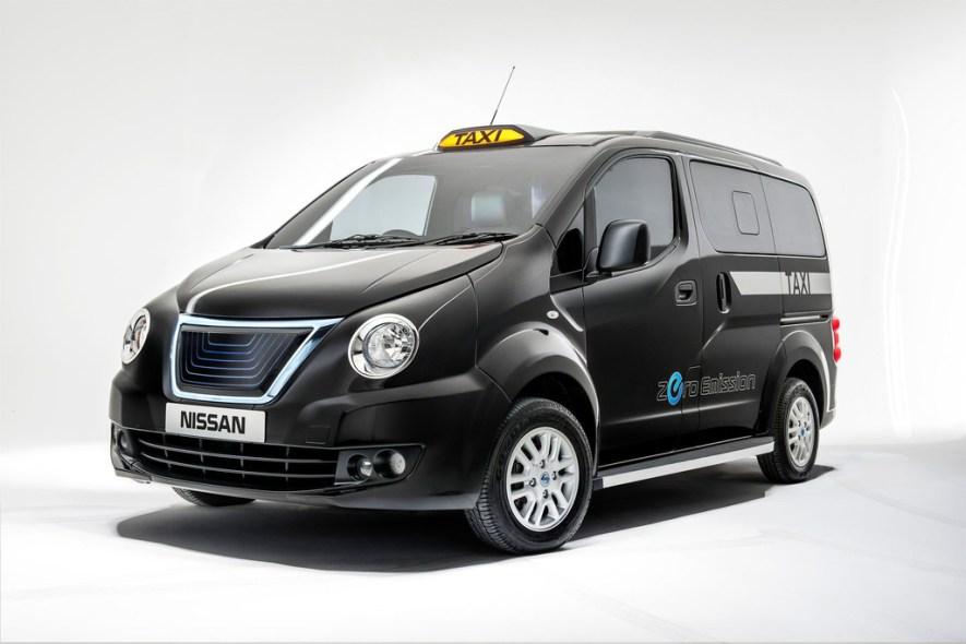 La version électrique du NV200 (crédits photo : Nissan)