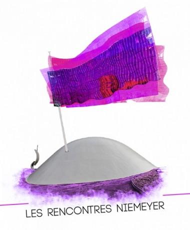 Affiche des Rencontres Niemeyer 2013. Crédit photo: PCF