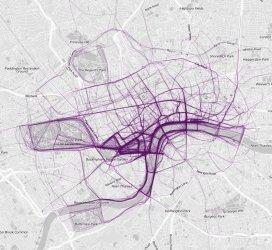 Londres (crédits image : flowingdata.com)