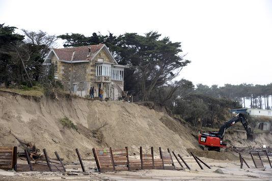Erosion du littoral