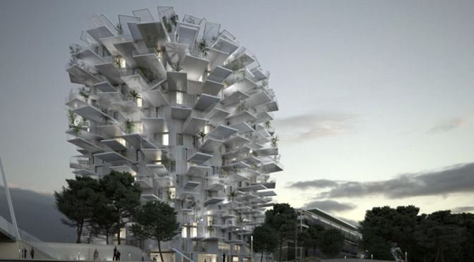 © RSI + Foujimoto + NLA paris + Oxo Architects - Montpellier - l'Arbre blanc