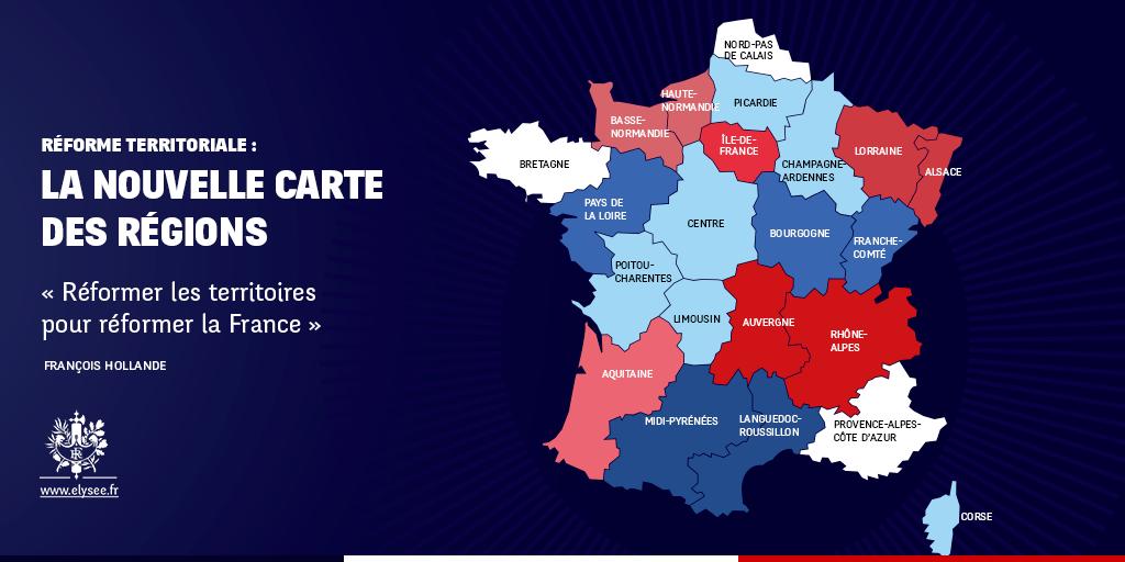 14 Régions françaises