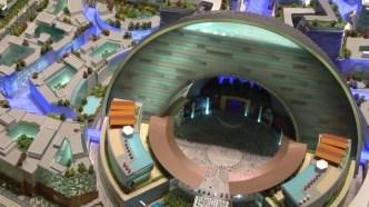 Le centre culturel (crédits image : Dubaï Holding)