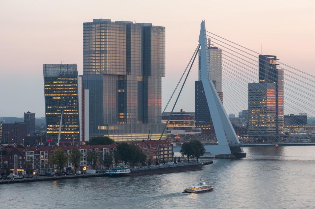 Rotterdam nommée meilleure ville d'Europe par l'Academy of Urbanism - © Ossip van Duivenbode