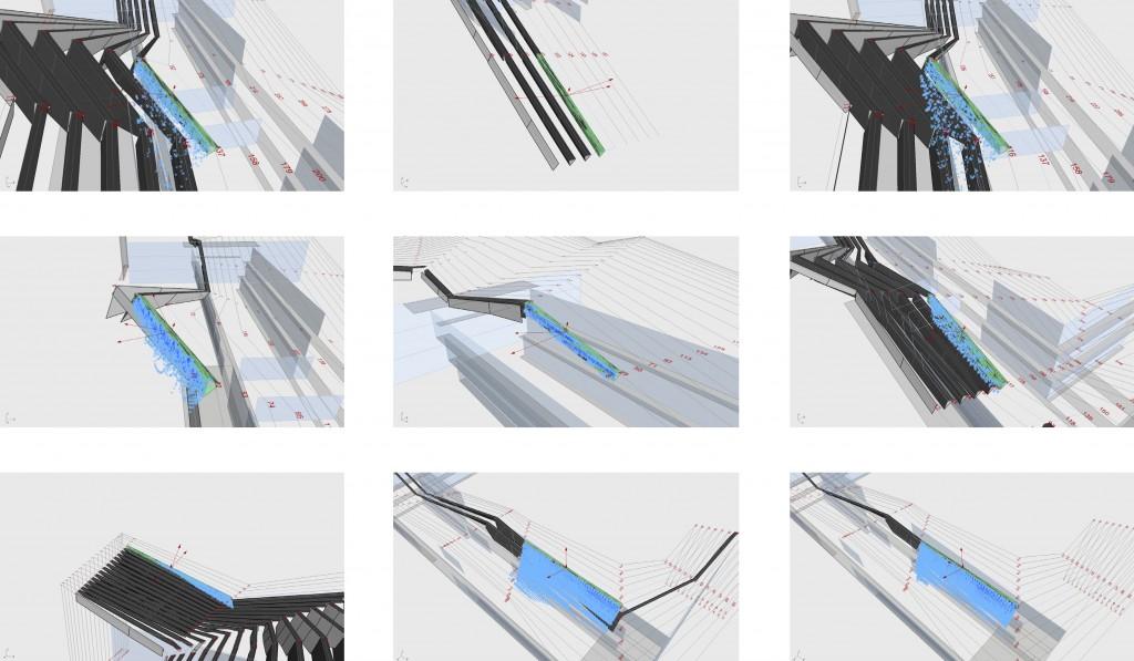 Climate Ribbon : dimensionnement des infrastructures pluviales