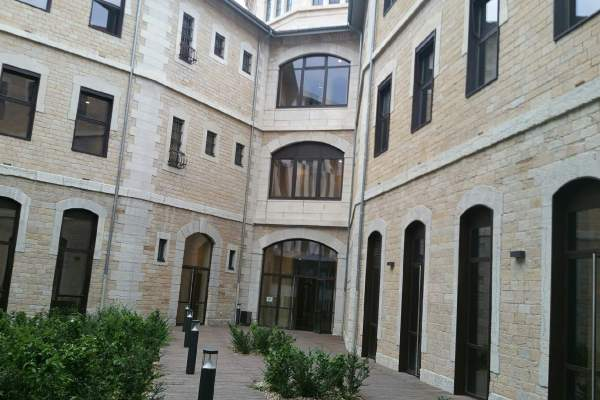 Lyon - une ancienne prison transformée en université