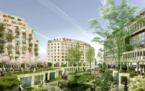 Le projet de reconquête urbaine du Triangle Eole-Evangile, l'un des plus réussit du point de vue de l'intervention urbaine. / Crédits photo : TVK