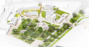 Le futur aménagement du centre-ville autour du Parc de la Marine à Dunkerque se dévoile / © Tandem+ Architectes et Vinci Immobilier