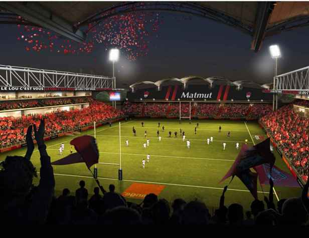Matmut Stadium - Gerland- Lyon - Aia Architectes