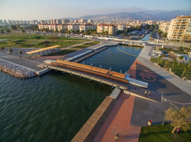 Bostanlı Footbridge - Izmir - Turquie - © ZM Yasa Architecture Photography