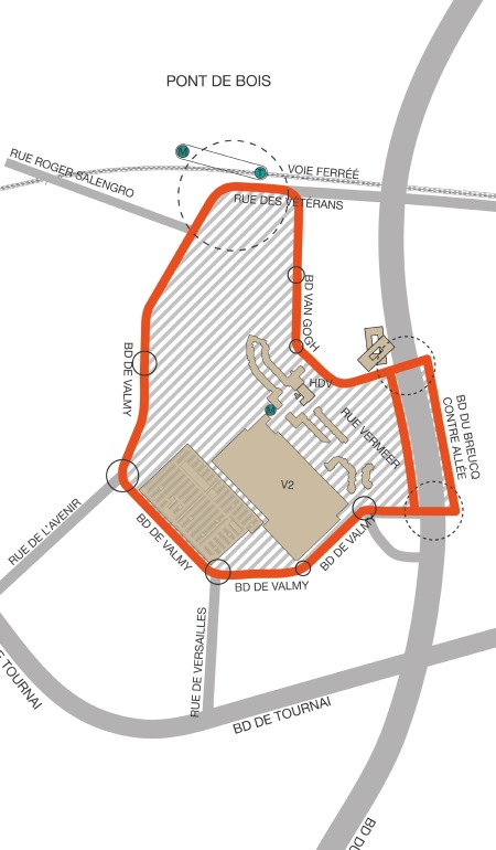 Boucle du centre ville (source image : Agence Up)