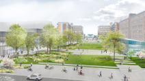 Place citoyenne (source image : Agence Up)