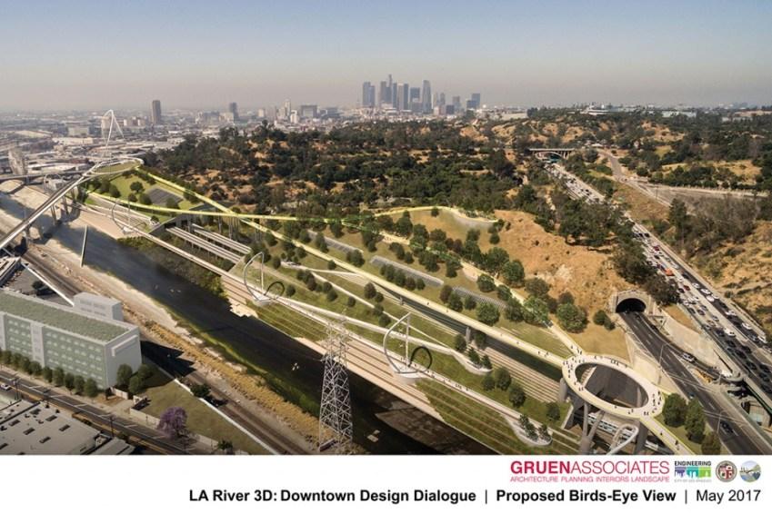 Elysian Terrace - Gruen Associates - Los Angeles River