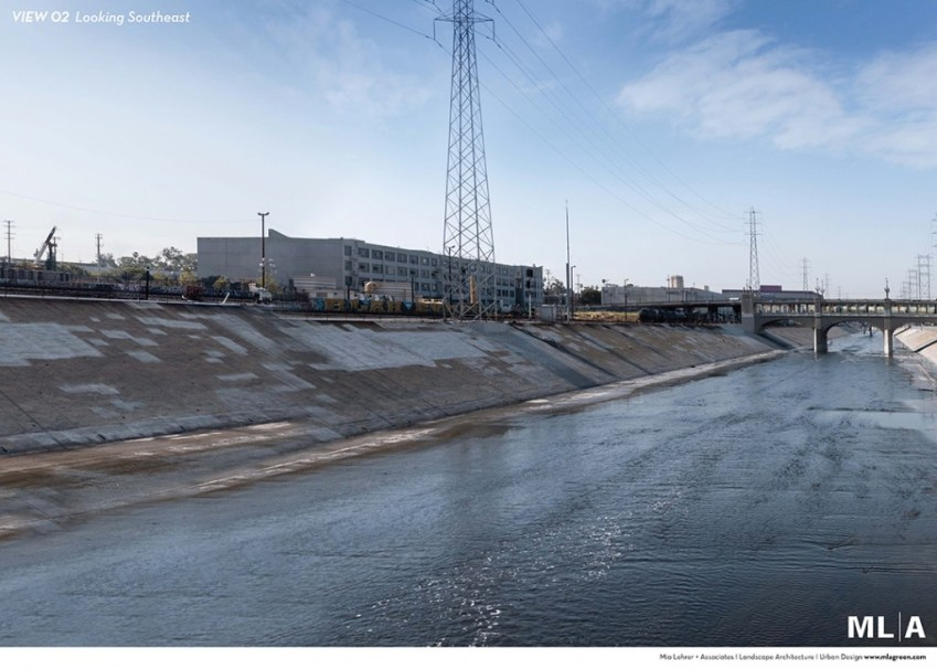 South Mission Road - MLA - Los Angeles River