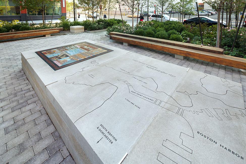 Channel Center Park and Iron Street Park - Halvorson Design Partnership - Boston