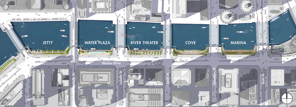 Chicago Riverwalk - Ross Barney Architects - Sasaki Associates