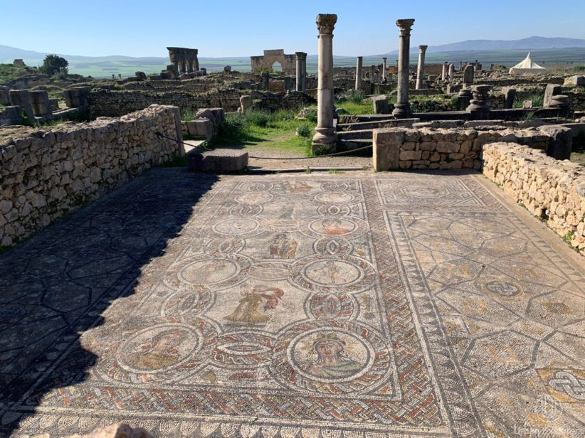 volubilis ciudad romana mulay idris fez